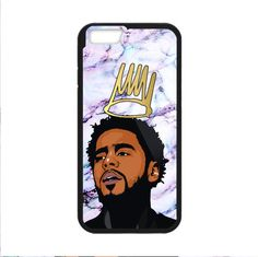 New J Cole Best White Marble Custom Print On Cover For iPhone 6 6Plus 7 7Plus #UnbrandedGeneric