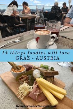 14 things foodies will love in Graz, Austria Austria Food, Austria Travel, Europe Travel Guide, Europe Destinations, Travel Abroad, Budget Travel, Travel Guides, Graz Austria, Green Pumpkin
