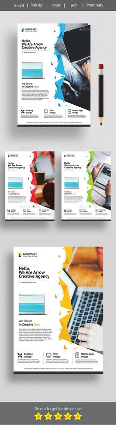 Corporate Flyer - Web Design Agency Web design agency, Design - web flyer