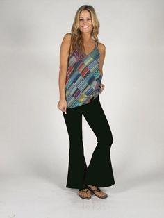 Flare Yoga Pants  http://www.hipmountainmama.com/orflyopa.html