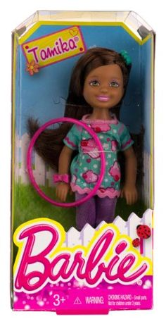 "Tamika w/ Hola Hoop: Barbie Chelsea & Friends Summer Dreamhouse Collection ~5.5"" Doll Figure Barbie http://www.amazon.com/dp/B00HLXF9KU/ref=cm_sw_r_pi_dp_JpOhub1V8ZJ3B"