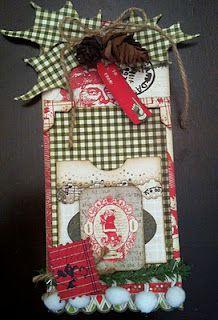 Christmas Tag by Authentique Paper Educator Trisha Ladouceur