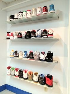 Im really a fan of sneakers. I am a sneaker collector and hope to eventually own a gang of sneakers one day.