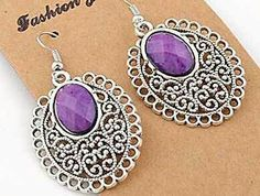Hey, I found this really awesome Etsy listing at https://www.etsy.com/listing/195500034/silver-exquisite-purple-beaded-and