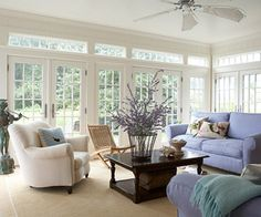"""height of the windows in the sunroom"" ""Large single ..."