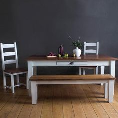Provence - Full Reclaimed Wood Dining Set