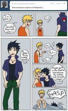 Ask Sasuke and Naruto 32 - RtN Sasuke by Hexephra