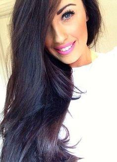 violet black hair color - Google Search