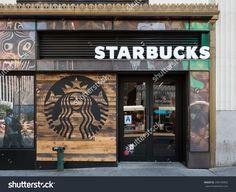 New York City - May 2015: Starbucks Store. Starbucks Is The ...