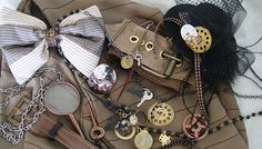 detail ideas... steampunk mood board | Flickr - Photo Sharing!