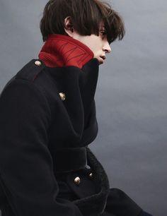 Bjorn Iooss, Photographer, At Large Magazine, Cameron Kelley, Male, Model, Studio