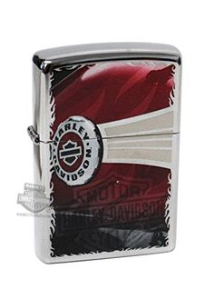 ZI28814 – Harley-Davidson® Mens Side Tank B&S High Polish Chrome Zippo Lighter Product Features Side View Tank with B&S Logo High Polish Chrome Lifetime Guarantee Fill with Zippo premium lighter fluid **H-D DEALER EXCLUSIVE**