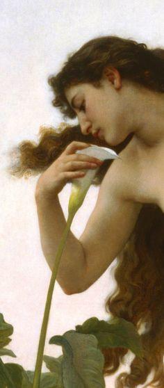 BOUGUEREAU, William-Adolphe (1825–1905)  L'Aurore (Dawn), detail 1881 Oil on canvas Birmingham Museum of Art