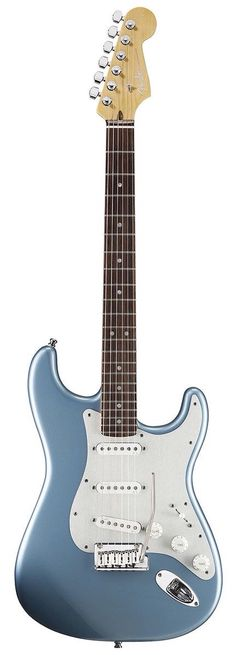 Fender Stratocaster Electric Guitar in Ice Blue Metallic