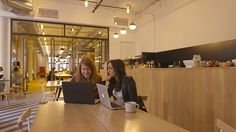 Here's why more business owners are turning to coworking spaces. #coworking #theworkstation