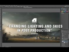 Architectural Visualization Tutorial - Changing Lighting and Skies - Post Production - YouTube