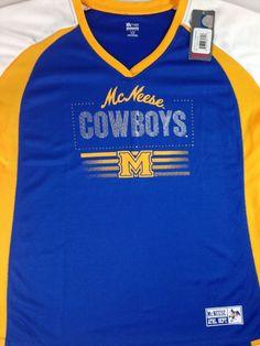 McNeese State Cowboys Jersey Shirt V-Neck Fitness Womens XL Skill Mesh Bling NEW http://www.ebay.com/itm/McNeese-State-Cowboys-Jersey-Shirt-V-Neck-Fitness-Womens-XL-Skill-Mesh-Bling-NEW-/252466181993?roken=cUgayN&soutkn=txzfaR #bogo #college #football #jerseys
