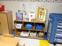 Dramatic play doctor's office