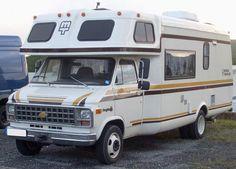 Chevy van as a camper