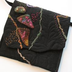 Artsy Purse with Felt Accents
