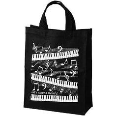 the piano teacher tote bag. <3
