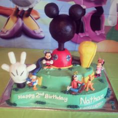 Mickey Mouse Clubhouse Birthday Party Cake
