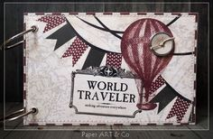 Paper, ART & Co.: Minibook No.8 World Traveler