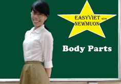Learn Vietnamese language: Vietnamese Words about Body parts: Apprendre ...