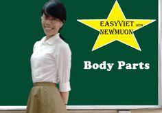 Learn Vietnamese language: Vietnamese Words about Body parts: Apprendre ...