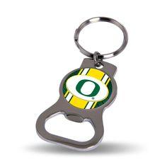"Image of Oregon Ducks NCAA 2"" Bottle Opener Key Chain UO Rico Industries"