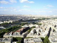 View from the top of Eiffel