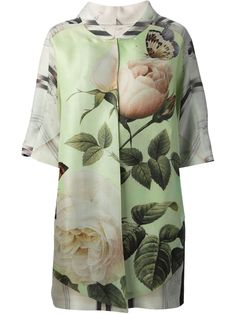 Antonio Marras Oversize Floral Jacket - Stefania Mode - Farfetch.com