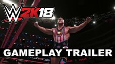 WWE new wrestling game from and Yuke's has been released for PC, Xbox One and Nintendo Switch. Video Game Trailer, Video Games, Wwe 2k, Pc Ps4, 22 Years Old, Xbox One, Wrestling, Trailers, Followers