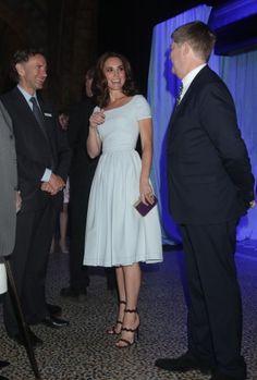 Kate Middleton al Museo di Storia Naturale di Londra