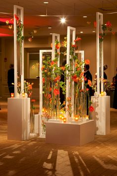 5 Creative Wedding Entrance Walkway Decor Ideas First impressions are so important, especially when it comes to making the grand entrance on your wedding day! Get creative with your entrance decoration elements to create a moment of awe in the s… Decoration Evenementielle, Stage Decorations, Flower Decorations, Wedding Entrance, Wedding Stage, Wedding Events, Weddings, Deco Floral, Floral Design