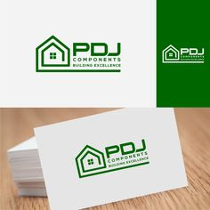 A green building component company looking for a stand out logo by John Wibo