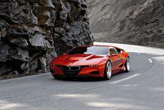BMW M1 #voiture #auto #bmw #m1 #rouge #cars #supercar #red #motors #road