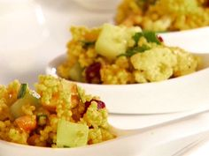 Want to make but with quinoa: Curried Couscous Salad Recipe : Giada De Laurentiis : Recipes : Food Network