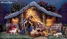Nativity Set from Thomas Kinkade