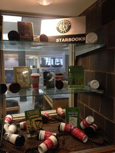 Library Display December 2014 Starbooks