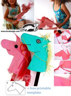 Yarn lacing horse craft for kids Yarn Crafts For Kids, Fun Easy Crafts, Arts And Crafts Projects, Craft Activities For Kids, Baby Crafts, Diy For Kids, 4 Kids, Craft Ideas, Monster Crafts