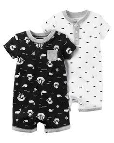 Baby Boy 2-Pack Babysoft Coveralls Set | Carters.com