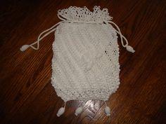 Irish Crochet Wedding Purse