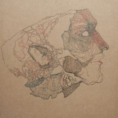 "Saatchi Art Artist magdalena  dukiewicz; Drawing, ""mask"" #art"