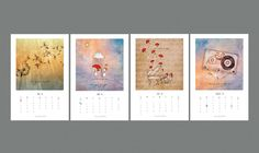 A beautiful limited edition art calendar for the year 2016. Completely handmade. The calendar has 12 amazing art prints corresponding to each month in a year.