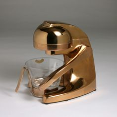 """Atlantic"" copper plated juicer by Lino Sabattini"