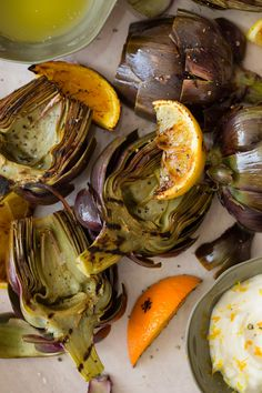 Grilled artichokes are one of my favorite things to order out because they never seem to come out right when I make them at home. This looks like a winner. Next time I see these on sale at the store, I'm giving it a whirl!