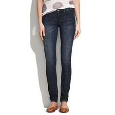Skinny skinny jeans by Madewell in western wash... tried them on at Madewell's denim roadtrip and am so in love!