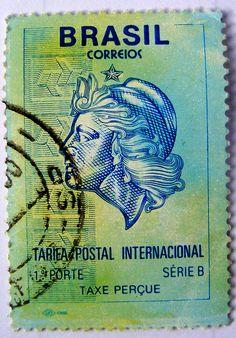 Brazilian stamp, via Flickr.
