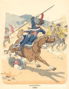 Lancero Gendarme 1810